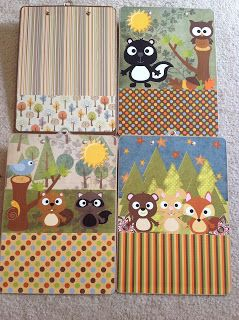 4th Grade for Sure DIY: Decorative Clipboards for the TEACHER