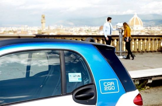 Firenze sale in Car2Go