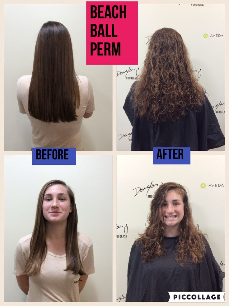 Beach Wave Perm Permed Hairstyles Wave Perm Beach Wave