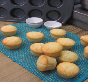 Vanilla Cupcakes Recipe Vanilla Cupcakes Yield 15 standard cupcakes **See below for chocolate cupcake variation Unsalted Butter  10 Tablespoons (140g) Granulated Sugar 1 1/4 cup (250g) Eggs Large 3 (150g) Vanilla Extract 2 teaspoons Buttermilk at room temperature 1 cup (237ml) **You may use Whole Milk or Almond Milk here Cake Flour 1 1/2 cup (180g) Baking Powder 1 1/2 teaspoons (10g) Salt 1/4 teaspoon (1.5g)
