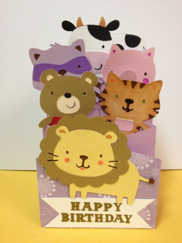 Superior Cricut Card Making Ideas Part - 14: Granddaughteru0027s Accordion Birthday Card Cricut #Cricut