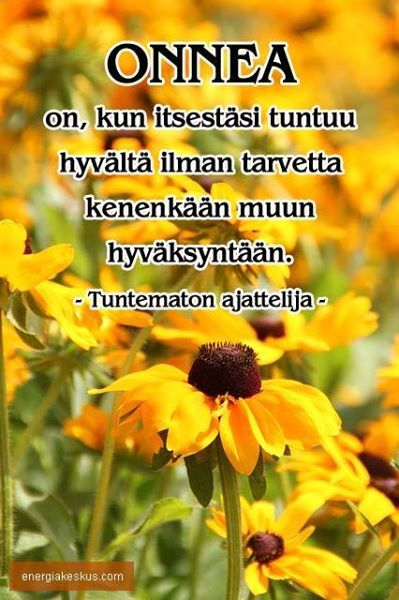 onnea on...