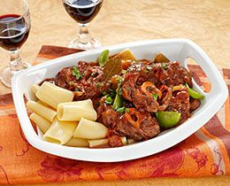 Osso Bucco with Paprika Veal PHILLY Recipe #SlowCooker #veal #recipe