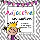 This packet contains a few fun activities that are aligned with Common Core, Grades 1-2.   *What is an adjective?   *Forming and Using adjectives  ...