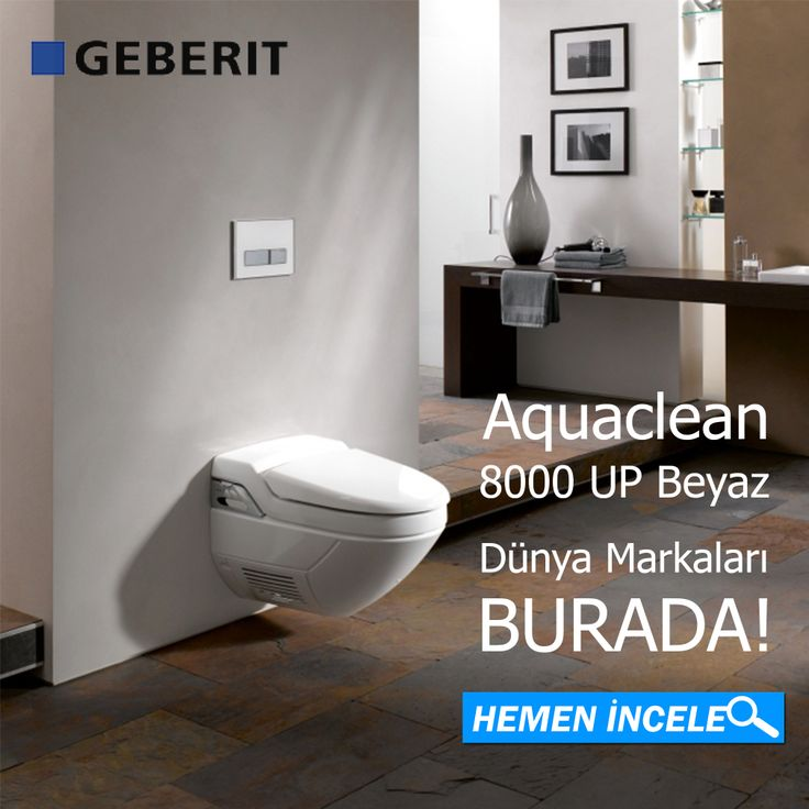 Dünya Markaları banyotrendy.com'da ! Geberit Aquaclean 8000 Up Beyaz Ücretsiz Kargo! #banyotrendy #banyodekorasyon #geberit #aquaclean  http://www.banyotrendy.com/geberit-aquaclean-8000-up-beyaz-pmu1620