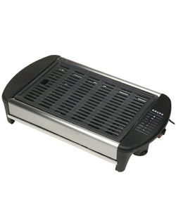 @Overstock - Krups Countertop Canyon Grill - Boasting Krups' traditional quality, this powerful 1500-watt electric indoor grill can stay on the countertop all day, helping with breakfast, lunch, and dinner.Big enough to accommodate f...    http://www.overstock.com/Home-Garden/Krups-Countertop-Canyon-Grill/613220/product.html?CID=214117  $89.99