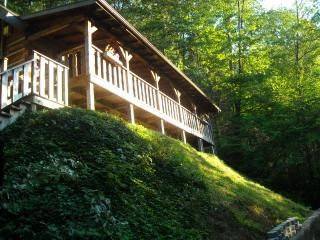 $129/nt special - stay in a real log home ! - Gatlinburg vacation rentals