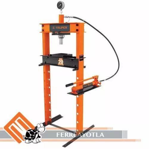 prensa hidraulica 20ton truper
