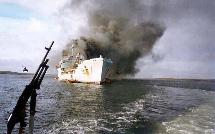 HMS Altantic Conveyor