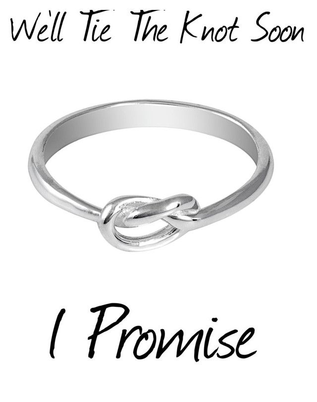 """""""Knot Ring, The Cutest Promise Ring"""" by aspiretoinspire22 ❤ liked on Polyvore featuring Jewel Exclusive"""