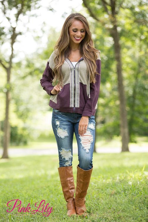 This unique hoodie is sure to keep you warm and stylish all season long!