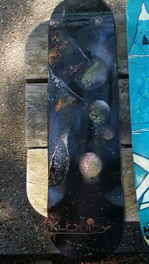 Kloudy boards - space board #kloudydesigns