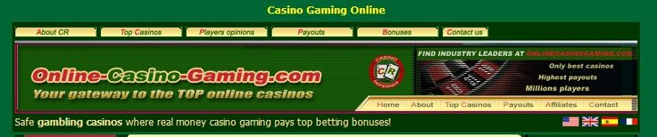 Casino reviews of trusted online casinos offering real money gaming.