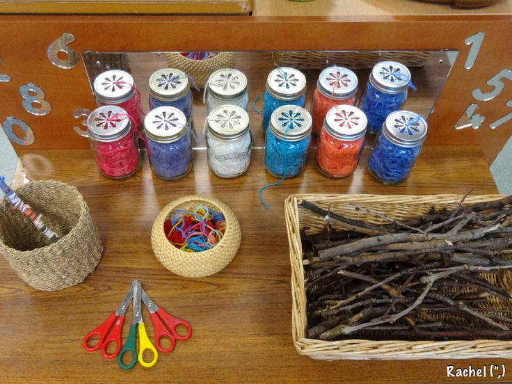 "Wrapping twigs in wool - from Rachel ("",)"