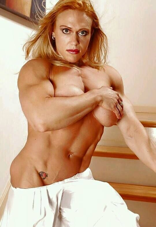 Naked girl on steroids — pic 4