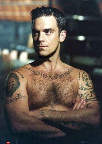 Robbie Williams - need I say more?