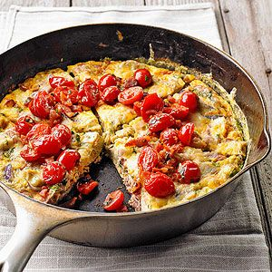 Frittata with TomatoesBreakfast Brunches, Breakfast Ideas, Red Onions, Artichokes Heart, Food Smart, Eating, Cooking, Breakfast Recipe, Food Mmm