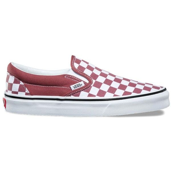 Vans Checkerboard Slip-On ($50) ❤ liked on Polyvore featuring shoes,  sneakers