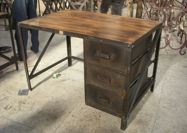 industrial desk (but longer)