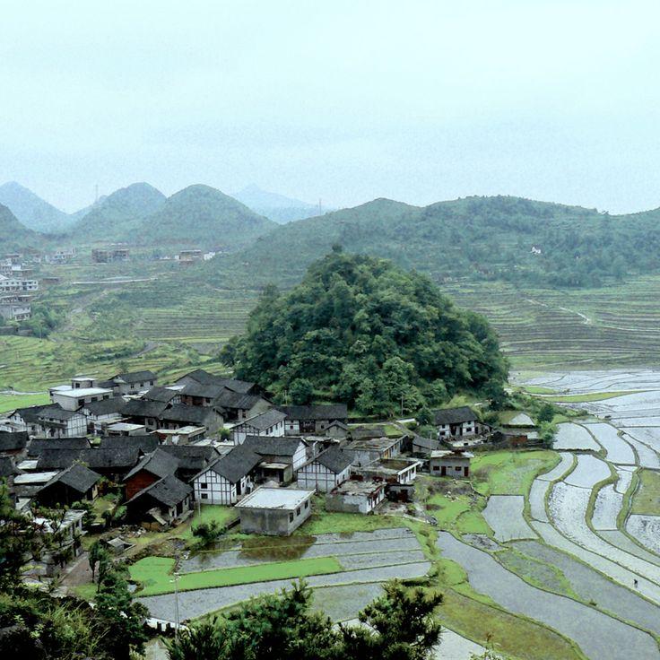 Gaopo Miao village, China