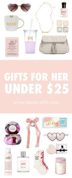 The perfect gifts for her for Valentine's Day! | Shop the most affordable gifts for the women in your life! There is something for everything including your wife, girlfriend, mother, sister, aunt, grandmother, friend, best friend and more!