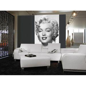 brewster home fashions ideal decor marilyn monroe wall mural