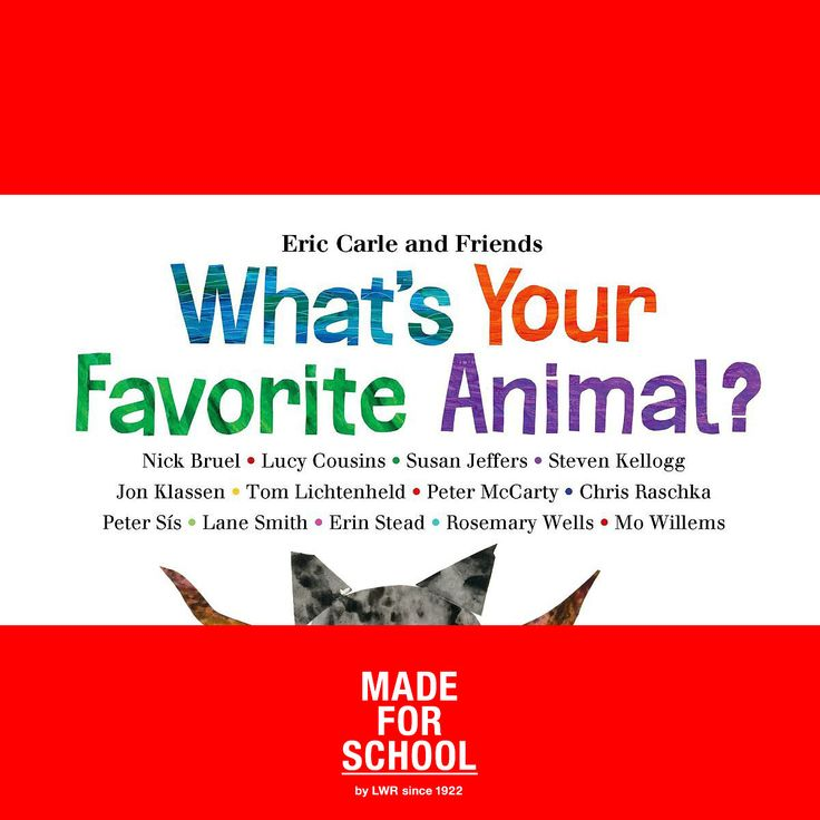What's Your Favourite Animal? Illustrators draw their favourite animal and discuss with Eric Carle for this book.  Have a look at these pictures - delightful.  Natalie