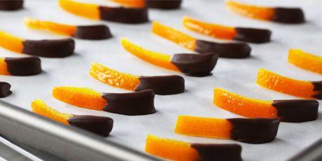 Candied orange peels and 5 uses for orange peels