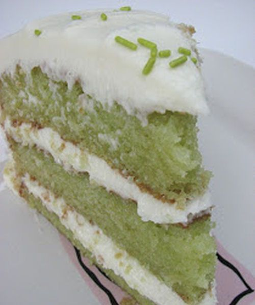 Key Lime Cake - I don't know who is gonna bake it but I want some...