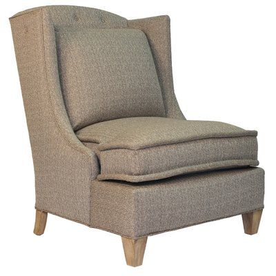 Darby Home Co Barwon Wingback Armchair Color: Savile Navy
