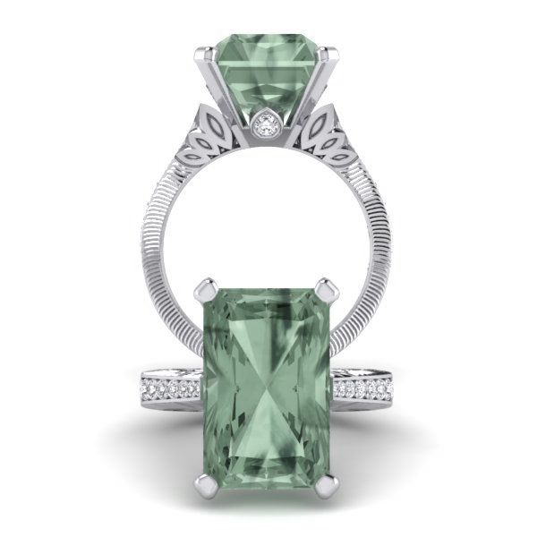 7.5ct Green Amethyst‎
