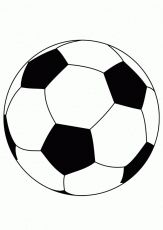 Soccer Player Coloring Pages - Free Printable Coloring Pages