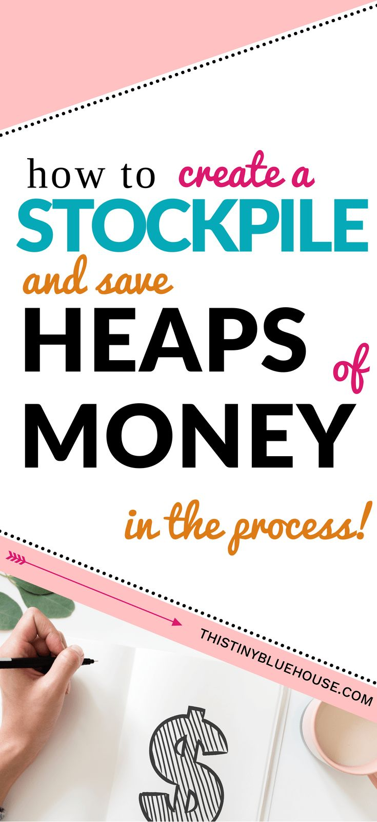how to create a stockpile and save heaps of money in the process. You don't need to be an extreme couponer to pull off this easy stockpiling technique. Money Saving ideas | Money saving tips & tricks | Easy ways to save money