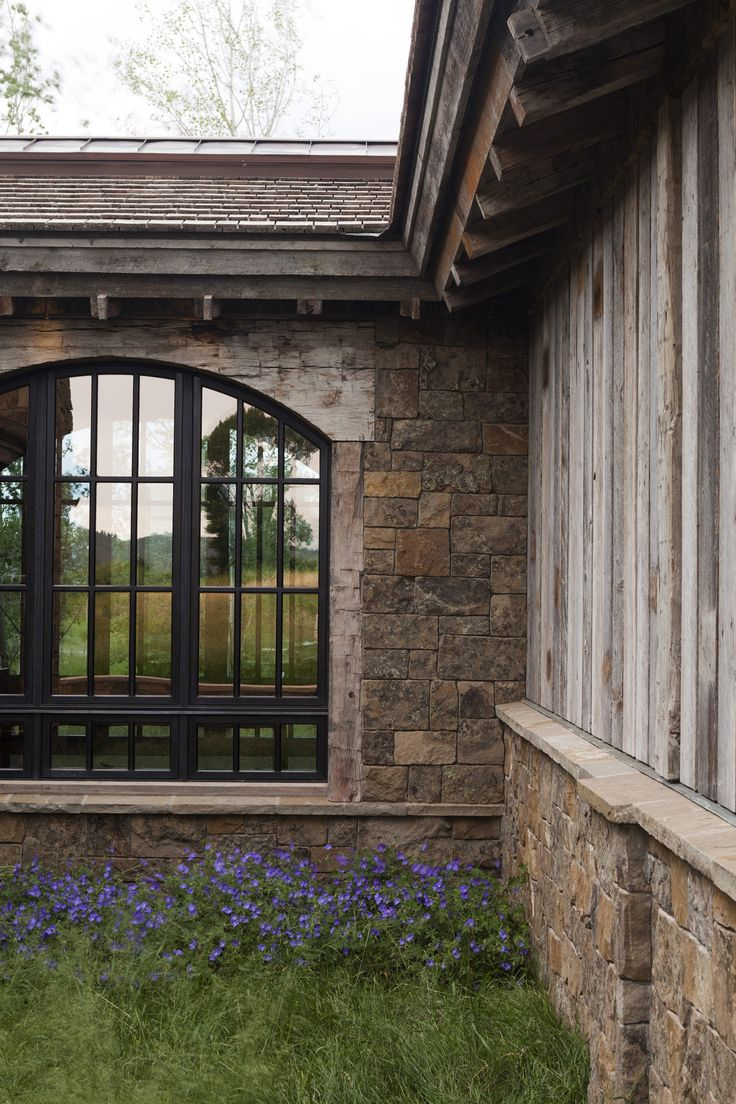 Sumptuous tudor style homes method philadelphia traditional bathroom - Love Exterior Materials Like This Window Thinking About Black Trim On Windows I