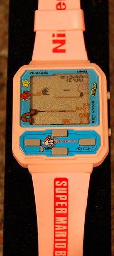 Vintage Super Mario Bros. Digital Watch