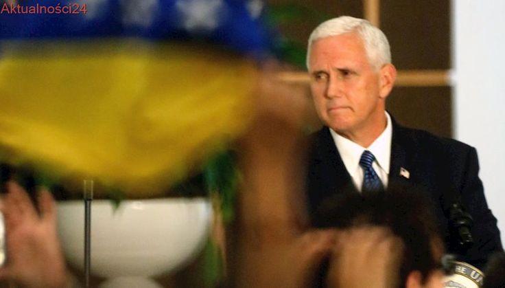 """USA """"nie będą stać z boku, kiedy Wenezuela się rozpada"""""""
