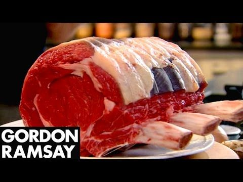 Stuffed Rib of Beef with Horseradish Yorkshire Puddings | Gordon Ramsay - YouTube