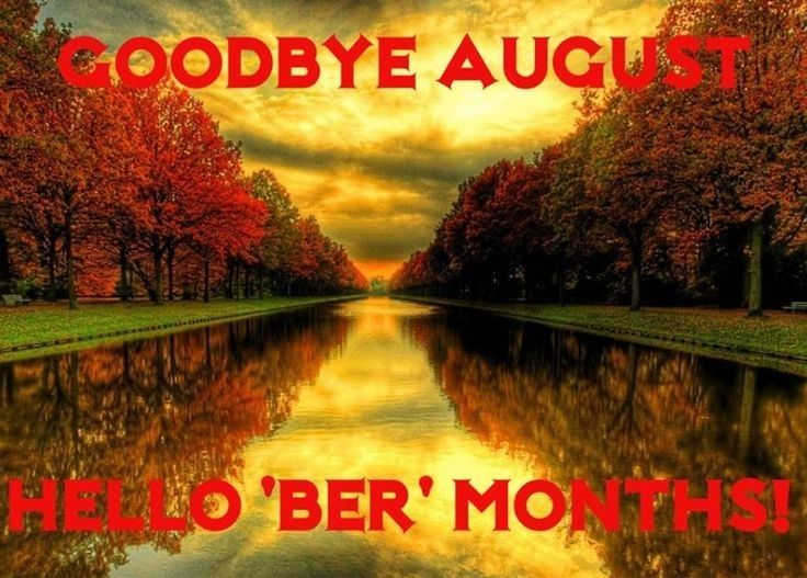 Image result for goodbye august hello september free images