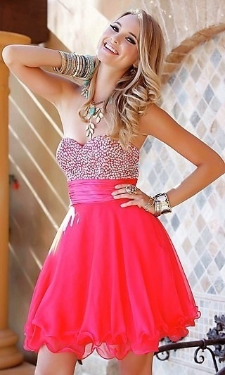 Cute semi formal dress