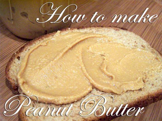 Homemade peanut butter: Easy Recipe, Diy Peanut, Skippi Peanut Butter, Homemade Butter For Kids, How To Make Peanut Butter, Food Processor, Butter Recipe, Homemade Peanut Butter, Homemade Pb
