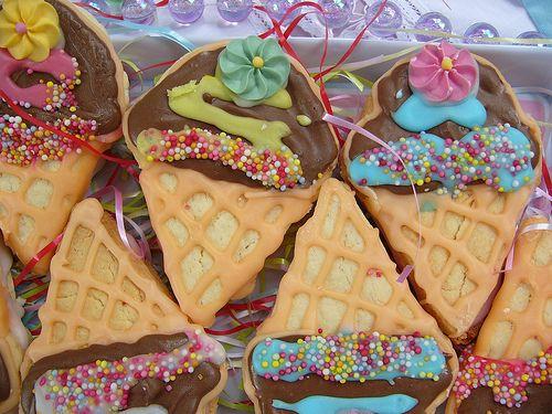 Ice Cream CookiesCream Cookies, Icecream Ice, Cakes Cookies, Icecream Cones, Cones Cookies, Ice Cream Cupcakes, Eating Cookies, Parties Cookies, Ice Cream Cones