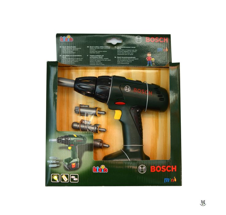 Bosch játék elektromos csavarbehajtó (Klein)   Pandatanoda.hu Játék webáruház