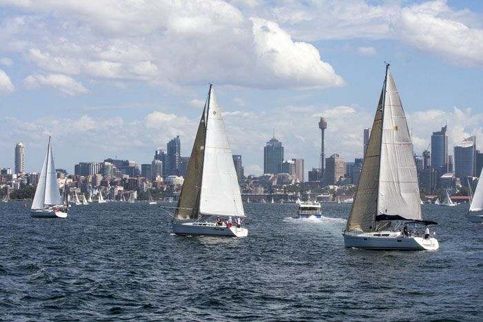 Sailing in Sydney Harbour Visit us on http://www.campbelltowndentalcare.com.au