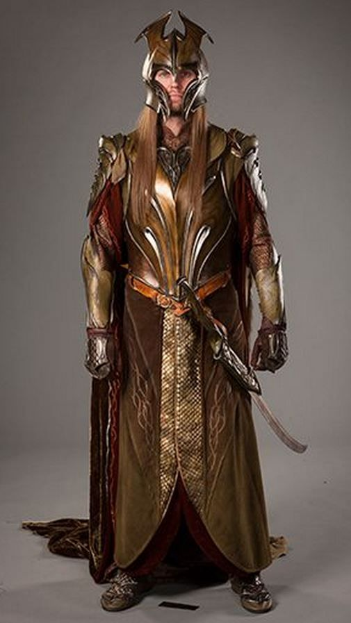 Elf of the Woodland Realm in armour