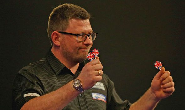 James Wade rises from sick bed to progress to the World Darts Championship…
