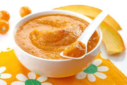 7m - Purée de potiron à la tomate