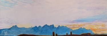 "Saatchi Art Artist bachmors artist; Painting, ""Montserrat II"" #art #LoveArt #bachmors #contemporaryart  #metamodernism #artist #palettes #color #painting #art  #SellingArt  #MakingArt #VendoArte #ArteContemporaneo #AllStyles #metamodernismo # Saatchiart @Saatchiart @ArtPal @bachmors #expressionism"