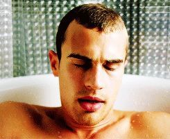 Theo James naked