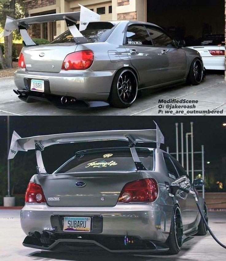 Subaru STI Modified Slammed Custom Jdm subaru
