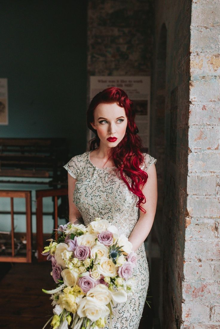 Long Red Hair Bride Bridal Ariel Princess Magical Fairytale Disney Wedding Ideas http://www.beckyryanphotography.co.uk/